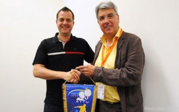 Tibhar committed to support ettu development - Stefano bosi tennis tavolo ...
