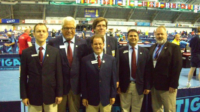 Estonia's Poru, Germany's SCHNABEL, BAZZI of Switzerland, MIETTINEN of Finland, ZAPATA of Spain and WADSTEN of Sweden