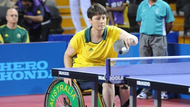 Para table tennis a part of integrated 2018 for 10 in 1 games table australia