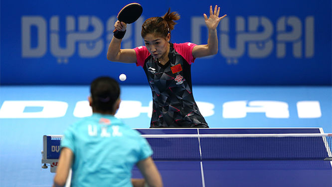 Liu Shiwen qualifies for her fifth World Cup after beating reigning Olympic Champion Li Xiaoxia