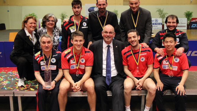 The draw in Vienna – first step of 2016/17 TTCL Men