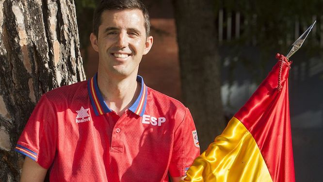 José Manuel RUIZ will be the standard bearer of the Spanish team
