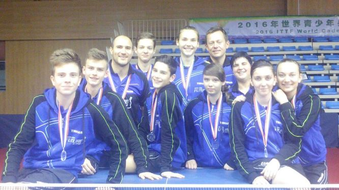 Brave performance of Team Europe in Shanghai