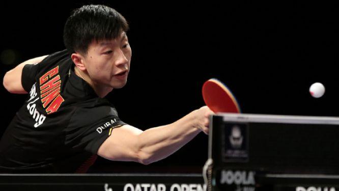 Grand Slam Champion MA Long defends Men's Singles crown in Doha, Qatar