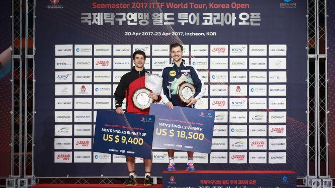 BOLL beats FRANZISKA in all-German final in Incheon
