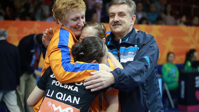 Table Tennis coaches honored by Polish Olympic Committee