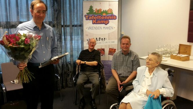 Igor Heller appointed honorary member of the Dutch Table Tennis Association