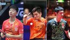 Updated ITTF Statement on Ma Long, Fan Zhendong & Xu Xin China Open Forfeits