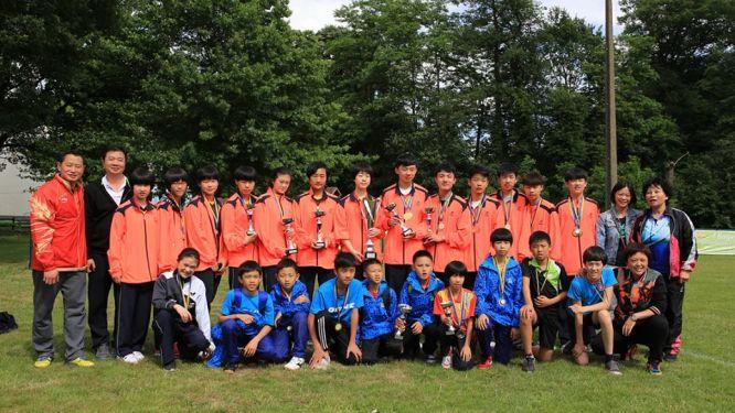 East China University TT club won the 25th International Youth Cup