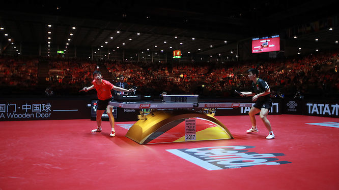 2017 World Table Tennis Championships Smashes Social & Viewership Records