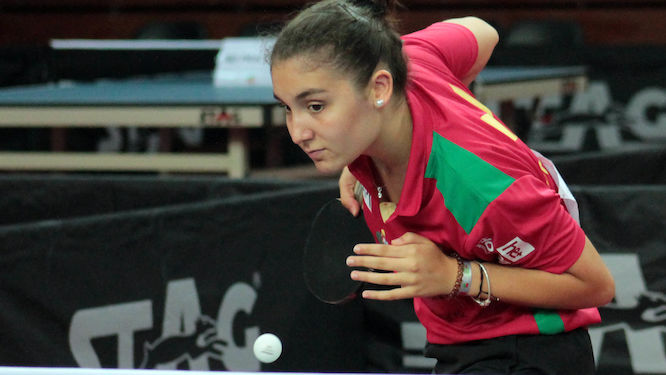 Alexandra PISCO reached the second round in juniors