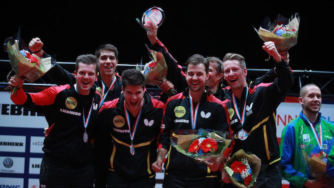 Day 5 conclusion of Liebherr ITTF European Championships winners confirmed