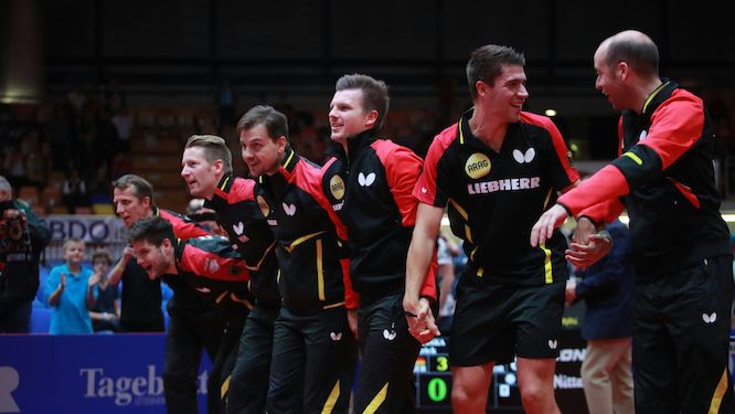 Germany regains the title at the LIEBHERR ITTF European Championships