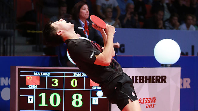Star Studded ITTF Men's World Cup Begins Action in Liège