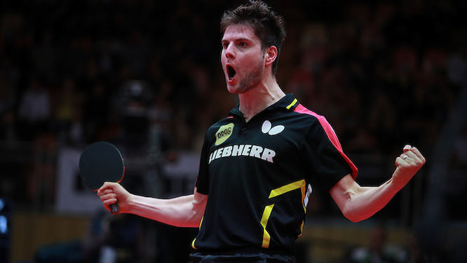 Dimitrij OVTCHAROV leads the Europe's challenge
