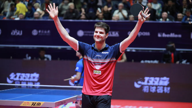 Dimitrij OVTCHAROV becomes World no. 1 for the first time