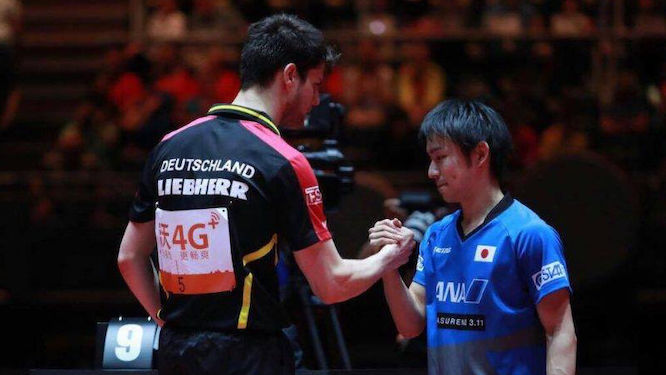 Ovtcharov One Match Away from Top Spot on the ITTF World Ranking