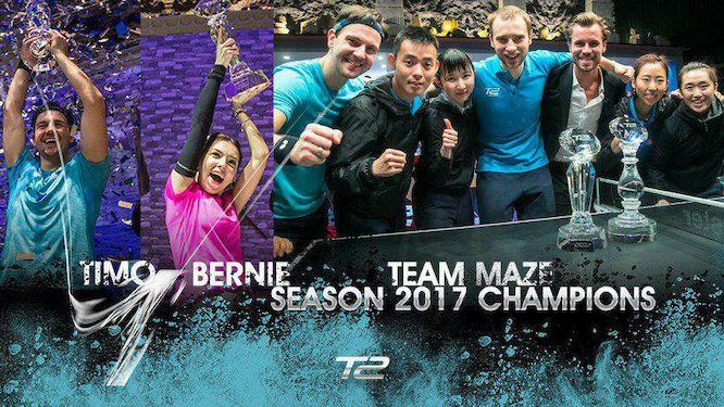 Team MAZE inaugural champions, individual titles for BOLL and SZOCS