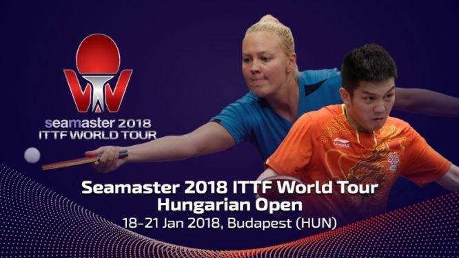 Seamaster 2018 ITTF World Tour Kicks Off in Hungary