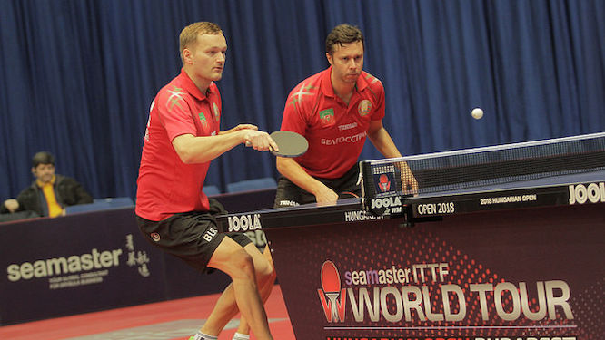 First doubles final for Belarus