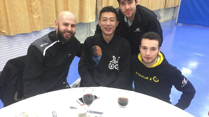 Istres Tennis de Table and Etival Clairefontaine asrtt in semis by narrow margin