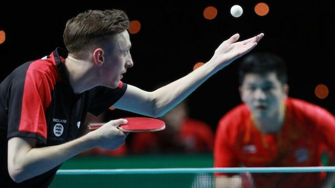 China in final despite England's brave performance