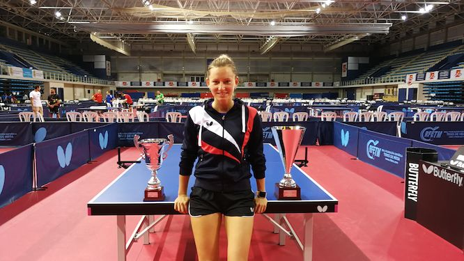 Galia DVORAK athlete role model for Youth Olympic Games in Buenos Aires
