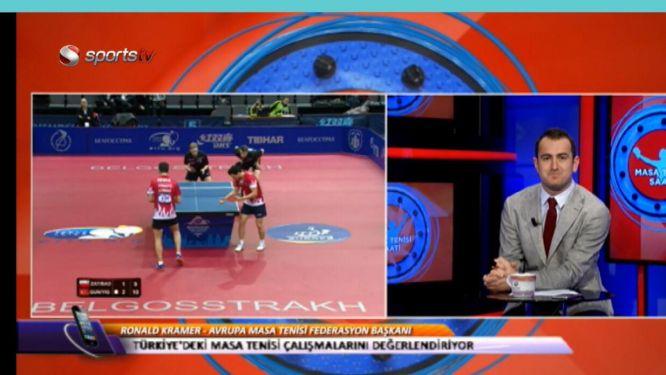 TTTF welcomed President KRAMER in Turkish TV show