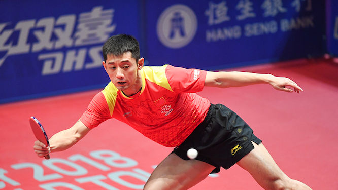 ETTU.org - Zhang Jike Back in Action at Inaugural ITTF World Tour ...