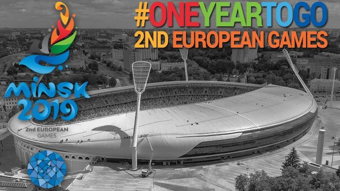 Ambitions high with one year to go until the European Games Minsk 2019