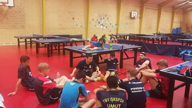 40 nations participate in B75's International Table Tennis Camp in Denmark