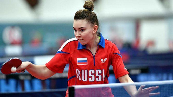 Mariia TAILAKOVA ready for the Championships
