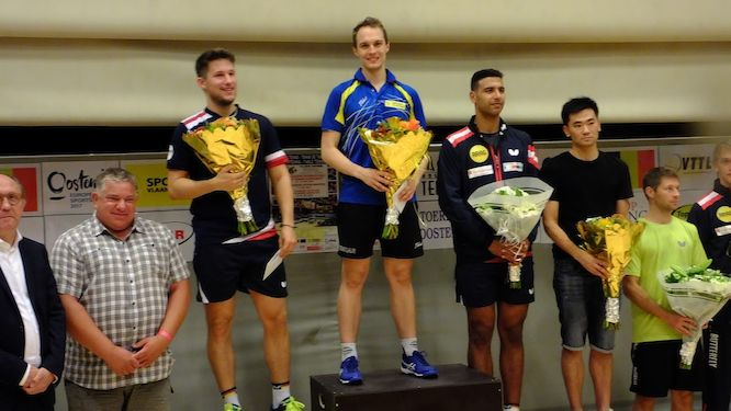 Cedric NUYTINCK clinched the title at The Flanders Ostend Masters 2018