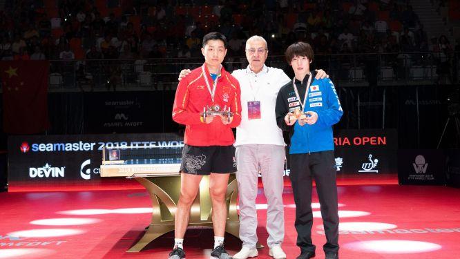 Bulgaria Open: Double victory for XU Xin