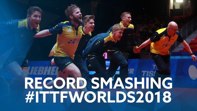 2018 World Team Championships the Most Followed Table Tennis Team Event in History