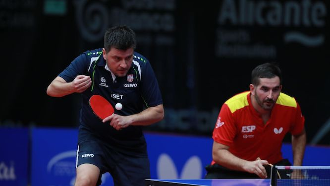 CANTERO joins his forces with KARAKASEVIC in pursuit for medal in Doubles