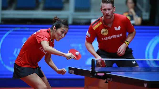 Ruwen FILUS and HAN Ying newly crowned Mixed Doubles champions