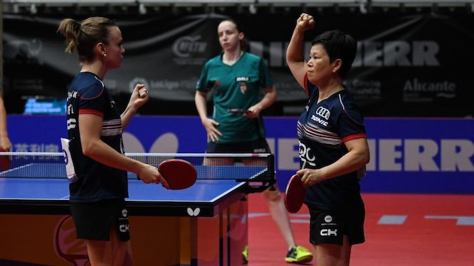 NI and DE NUTTE avenged their defeat in Budapest