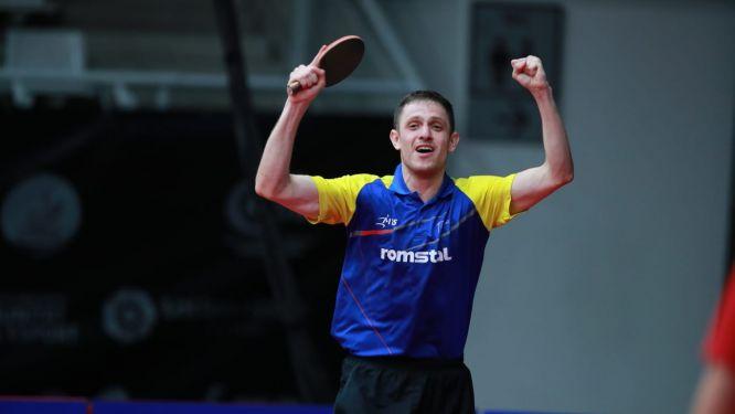 Ovidiu IONESCU beat reigning champion LEBESSON