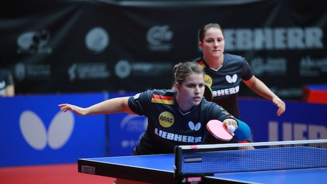 Sabine WINTER and Petrissa SOLJA on the wining tracks again