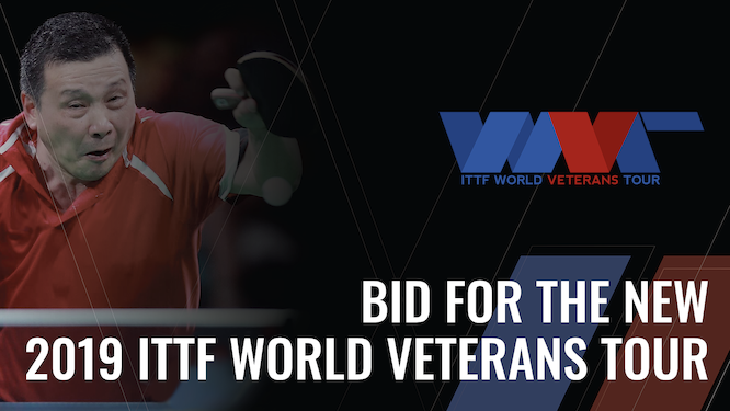 2019 ITTF World Veterans Tour: Coming Soon To A City Near You!