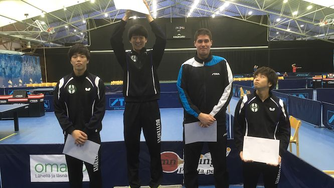 Japan's Hokuto Koriyama clinched the title in Finland - again