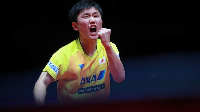 HARIMOTO becomes the youngest ever Men's Singles champion of an ITTF World Tour Grand Finals event