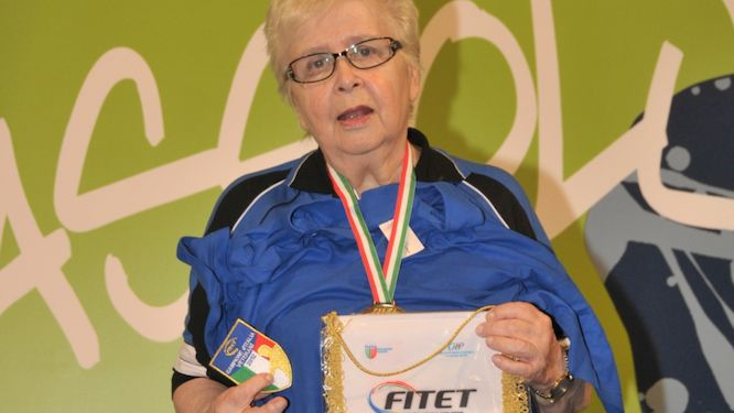 An example for all, Edith SANTIFALLER passes away