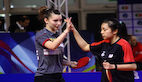 Tin-Tin HO and Karoline MISCHEK clinched gold in Doubles