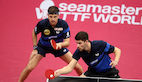 Silver for Timo BOLL and Patrick FRANZISKA