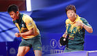 Heming Hu and Jian Fang Lay reign supreme in Oceania to reach ITTF World Cups.