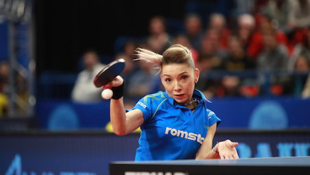 Timo BOLL and Bernadette SZOCS leading names in Minsk