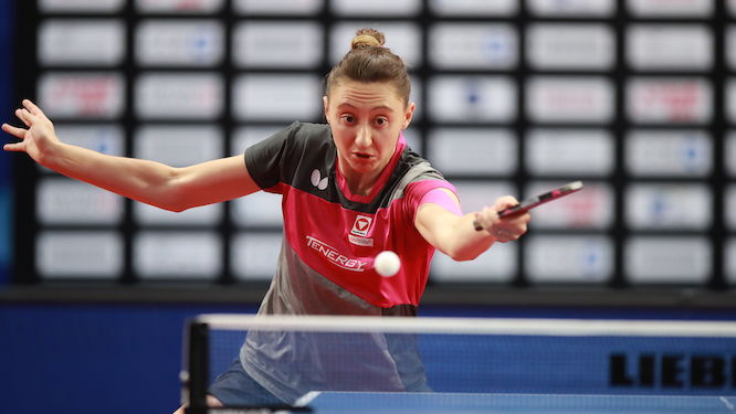 OVTCHAROV and POLCANOVA lost in straight games