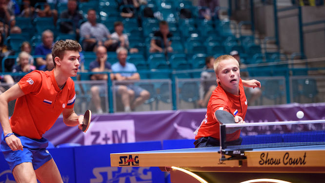 Russia tops the medal table in Ostrava